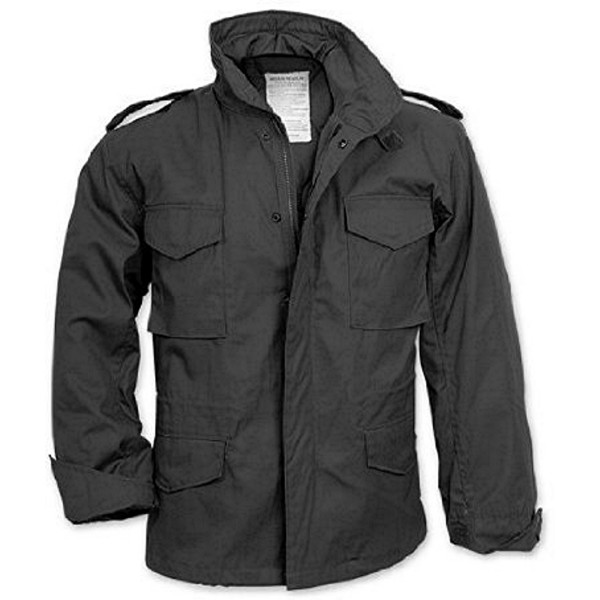 Mens military style coats and jackets