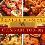 Breville BOV800XL vs Cuisinart TOB-195
