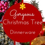 Christmas Tree Dinnerware