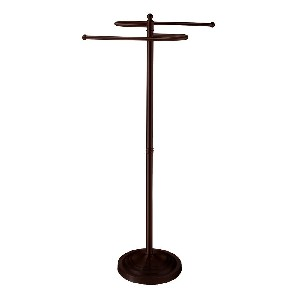 Gatco 1508 Floor Standing S Style Towel Holder, Bronze