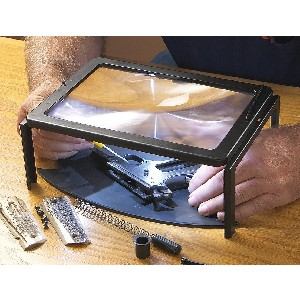 lighted stand magnifying glass