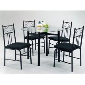metal dining room chairs : Kelli Arena