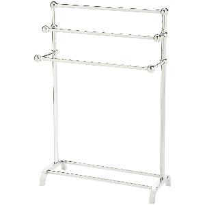 Taymor 3-Tier Floor Towel Valet, Chrome