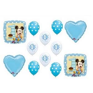 12 piece baby mickey balloon set