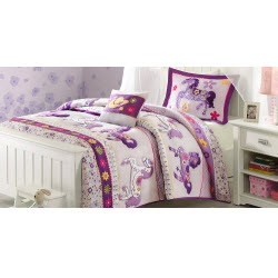 Purple Pony Bedding
