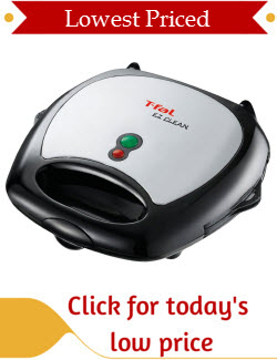 T-fal Waffle Maker with Removable Plates
