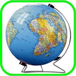 3D Globe Puzzle