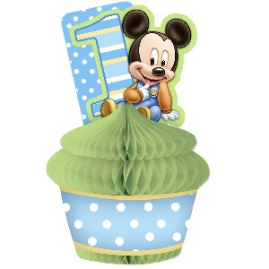 Baby Mickey Cupcake Centerpiece