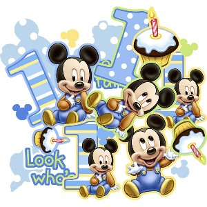 Baby Mickey Mouse Party Supplies Stones Finds