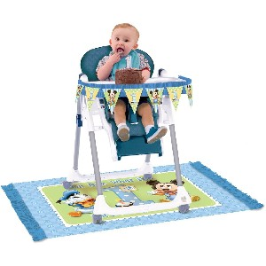 Baby Mickey Mouse 1st Birthday High Chair Decorating Kit