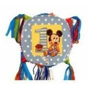 Baby Mickey Mouse 1st Birthday Party Pinata
