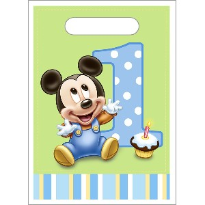Mickey Mouse Party Favor Treat Bags