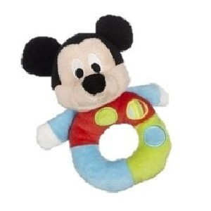 Baby Mickey Rattle Toy
