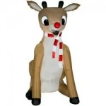 Christmas Reindeer Inflatable