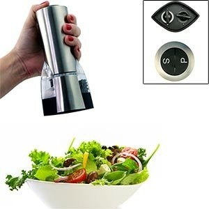 Domestic Innovations Electric Salt and Pepper Mill