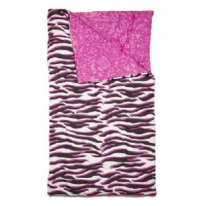 Three Cheers for Girls Wild Thing Reversible Sleeping Bag