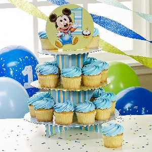 Baby mickey mouse party supplies stones finds for Baby mickey decoration ideas