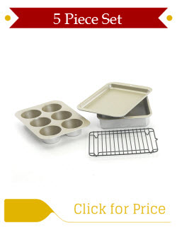 Nordic Ware Toaster Oven 5 piece Set
