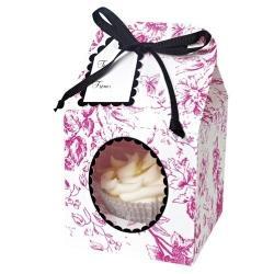 Pink and Black Cupcake Box Kit