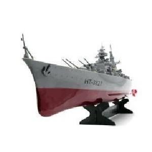 Remote Control German Bismarck Military Battleship • Stone's