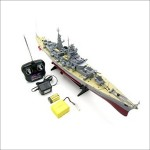 Remote Control German Bismarck Military Battleship