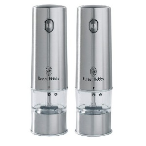 Russell Hobbs 12051-56 Battery Powered Salt And Pepper Grinders