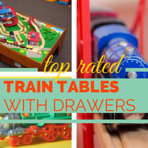 Train Table with Drawers • Stones Finds