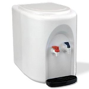 White BottleLess Countertop Water Purification Cooler