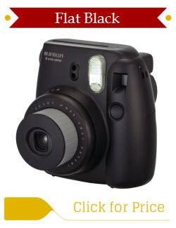Black Fujifilm Instax Mini 8 Instant Camera