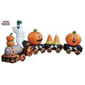 Candy Corn and Pumpkin Train