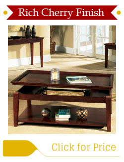 Cherry Coffee Table with Lift Top
