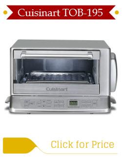Compare Breville BOV800XL vs Cuisinart TOB 195 Toaster Oven Stones