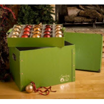 Fiberboard Divided Ornament Box