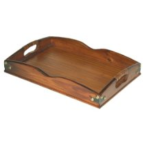 Mountain Woods Valencia Collection Large Antique Style Serving Tray