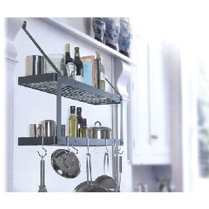 8516 - Rogar International Wall Mounted Pot Rack