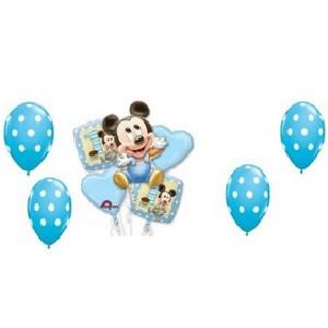 9 piece baby mickey balloon kit