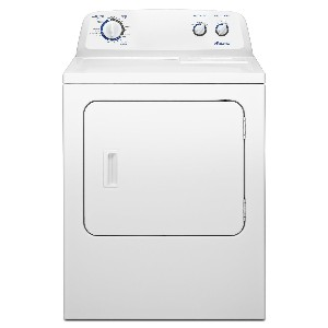 Amana 7.0 cu. ft. Traditional Electric Dryer with Interior Drum Light, NED4700YQ, White