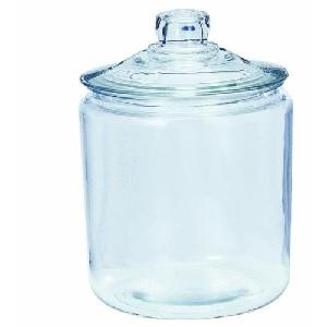 Anchor Hocking Heritage Hill Storage Jar Annealed Glass