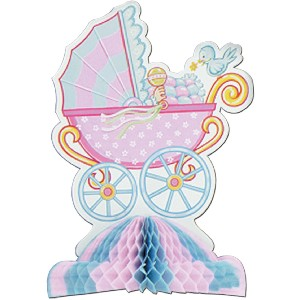 Baby Shower Centerpiece Party Accessory (1 count) (1/Pkg)