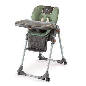 Chicco Polly Double Pad Fabric Portable Highchair