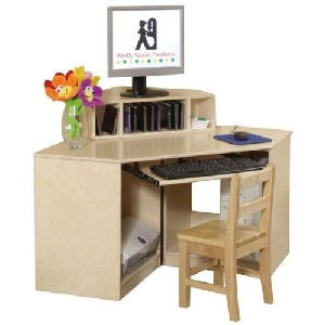 Corner Computer Table - Child Size