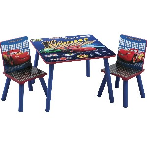 Delta Disney Cars Square Table and Chair Set