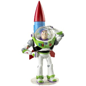 Deluxe Buzz with Rocket Collectible Figure