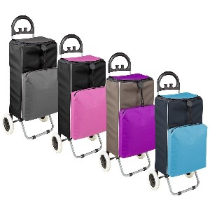 Deluxe Folding Covered Cart