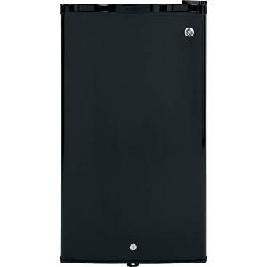 GE 3.2 cu. ft. Compact Locking Refrigerator - Black