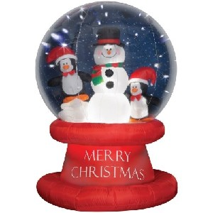 Gemmy Imports 83322 Airblown Santa Outdoor Decor