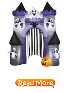 Haunted Castle Archway Airblown Inflatable