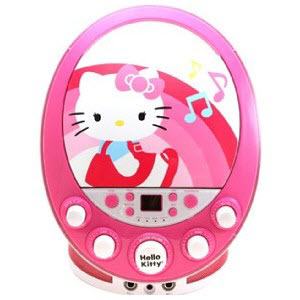Kids CD Player with Microphone