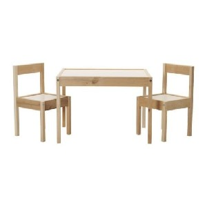 IKEA Childrens Kids Table & 2 Chairs Set Furniture