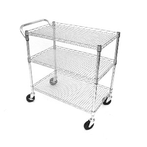 Stainless Steel Kitchen Carts On Wheels